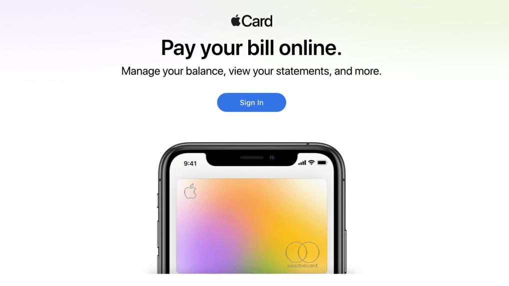 Apple Card bekommt eigenes Webportal heise online