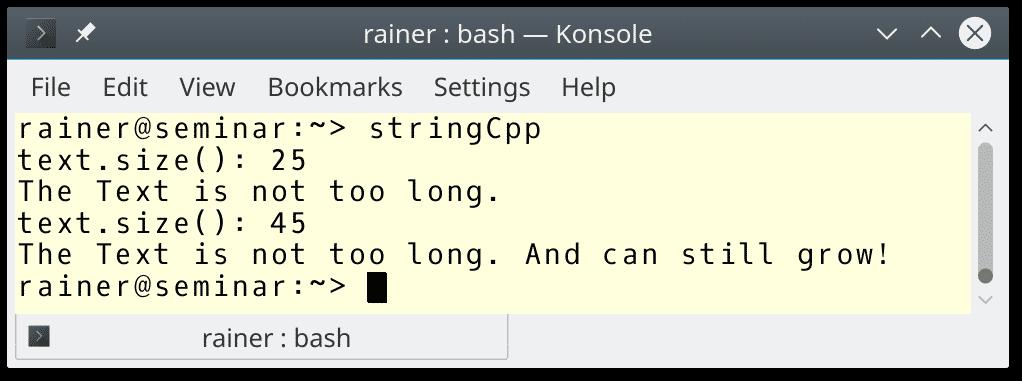 C++ Core Guidelines: Regeln zu Strings