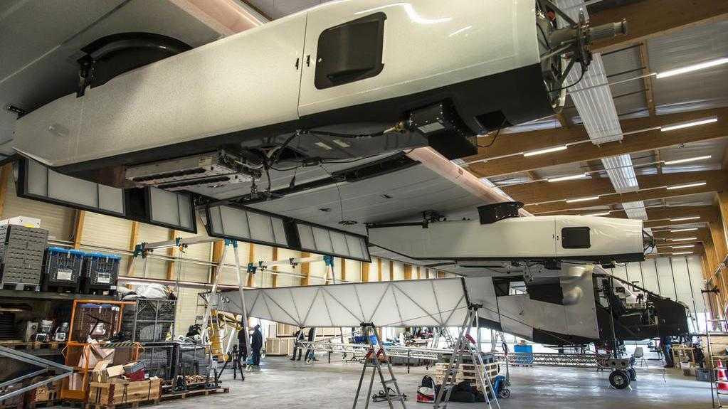 Solar Impulse 2 wird repariert