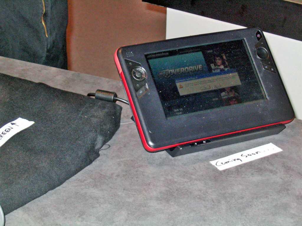 Ein anonymer Prototyp des Ultra Mobile PC