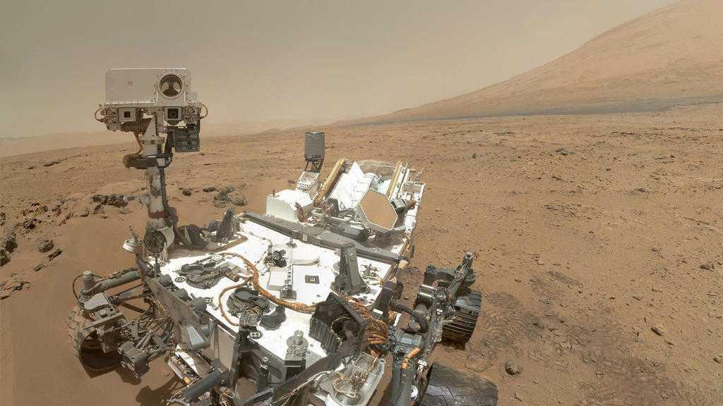 NASA-Rover Curiosity: Hinweise auf Seenlandschaft auf dem Mars