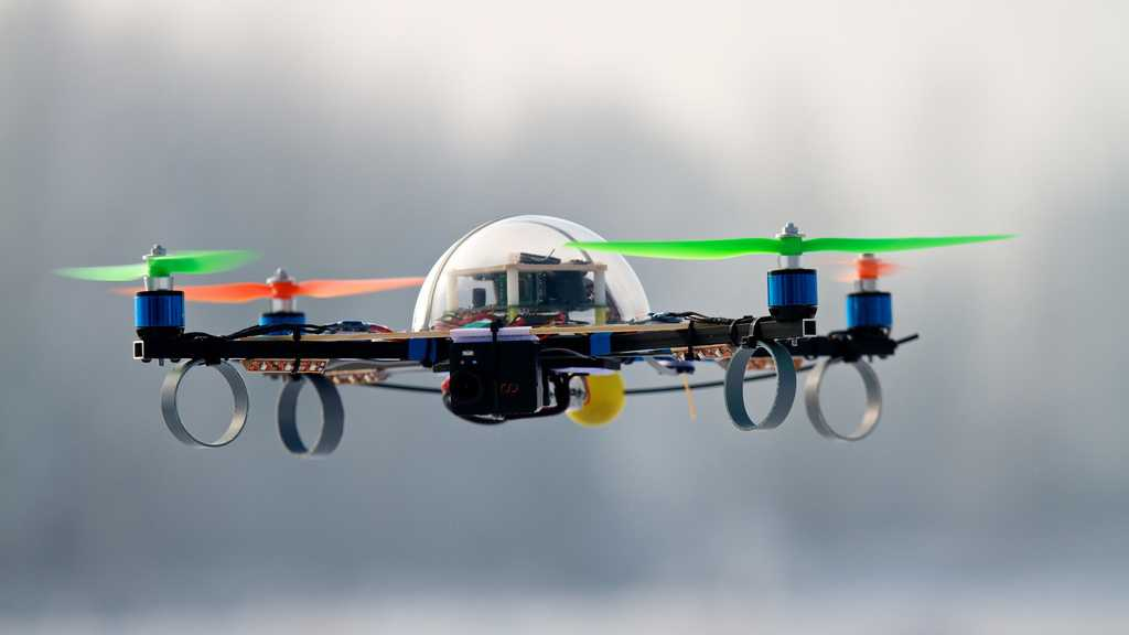 Medien-Drohne