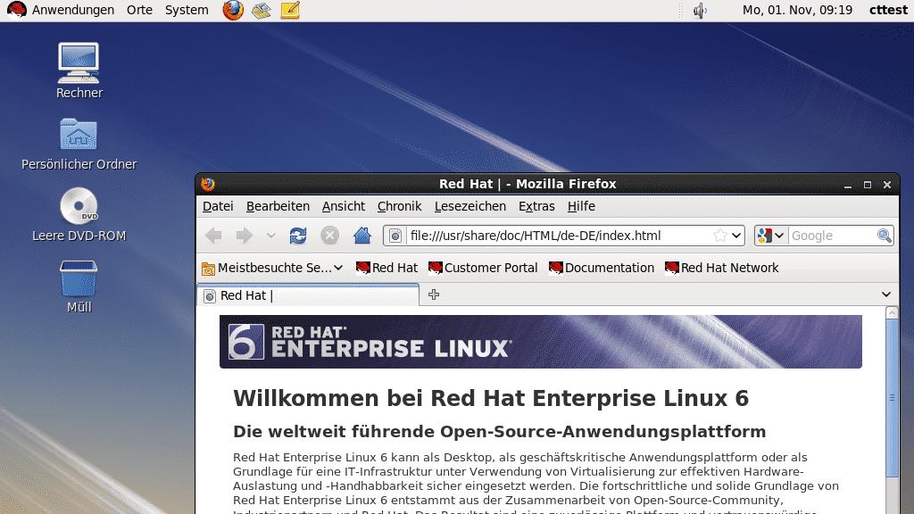 !!! Red Hat Enterprise Linux RHEL 6.7