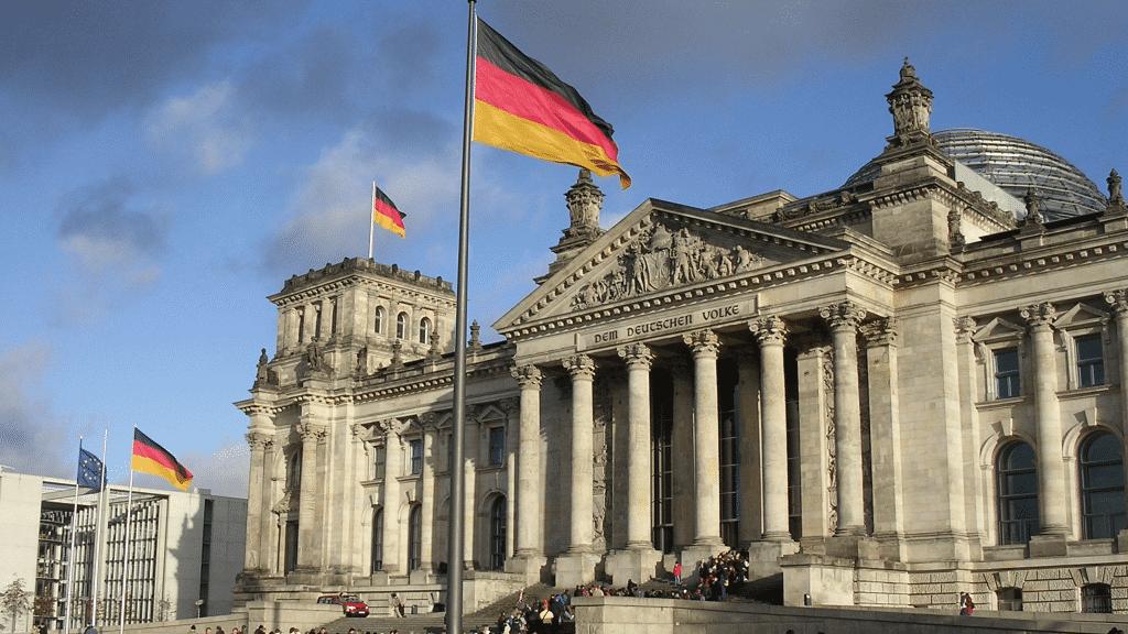 Bundestag im Reichstagsgeb�ude