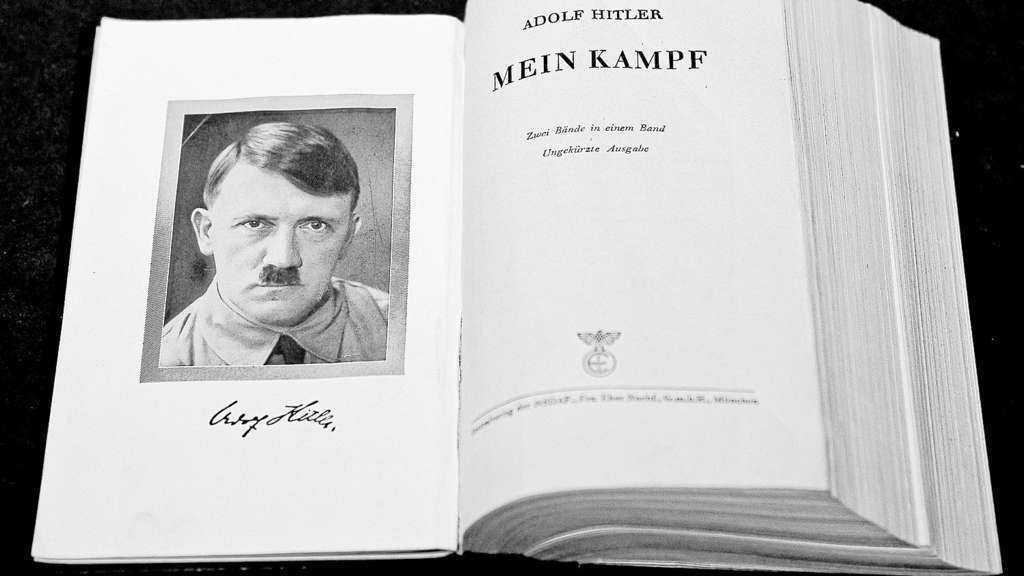 """Amazon will Erlöse aus kommentierter Ausgabe von Hitlers """"Mein Kampf"""" spenden"""