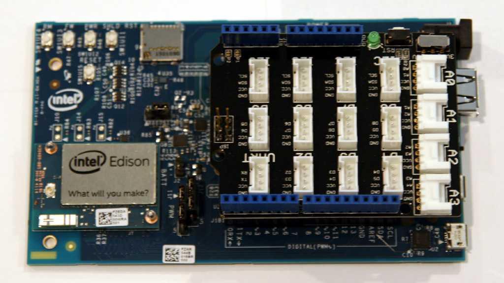 Intel-Edison-Entwickler-Board