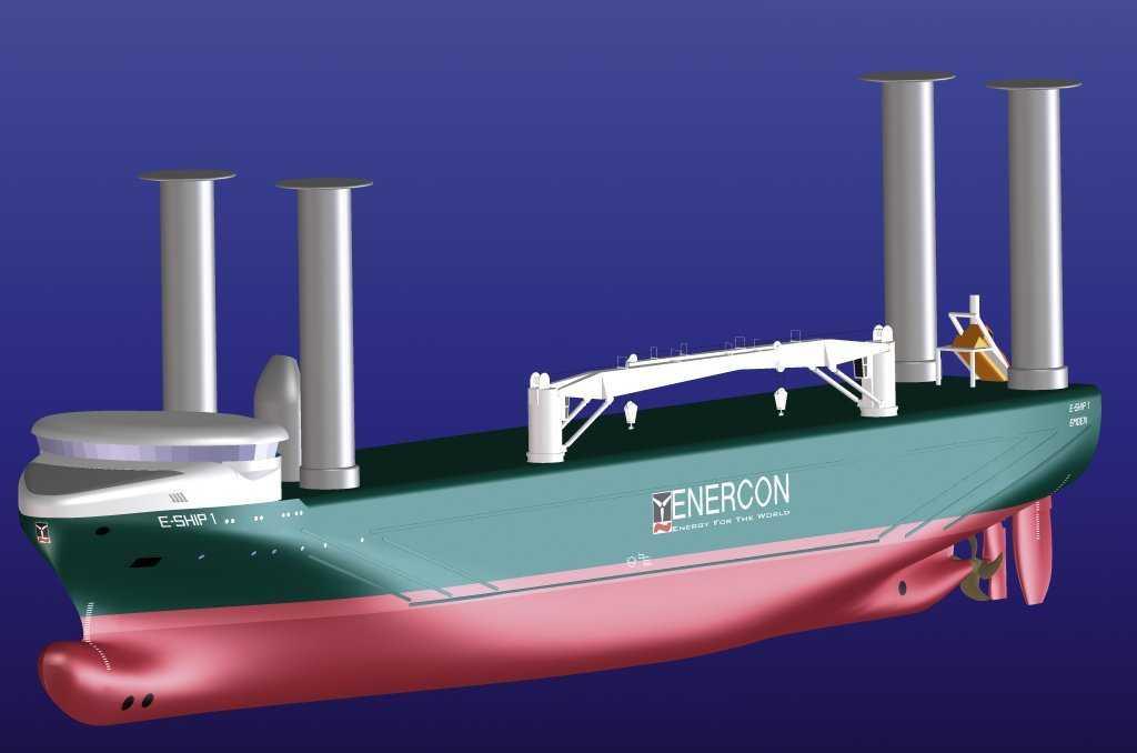 Computermodell des E-Ship 1
