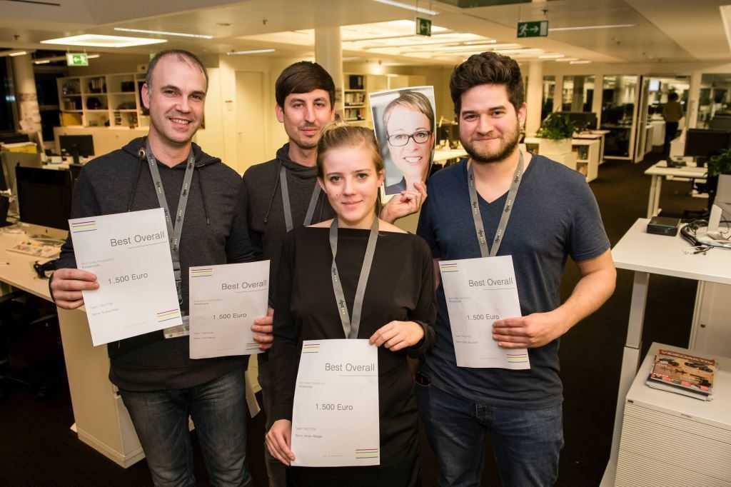 Preisträger des dpa-Hackathons