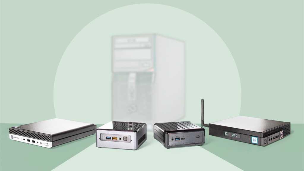 Mini-PCs für Büro und zu Hause