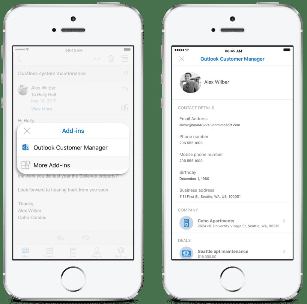 Künftig greift auch die iOS-App auf Informationen des Kunden zu.