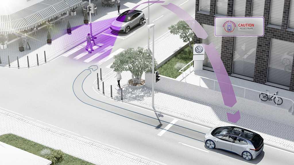 Vernetzte Autos: Volkswagen will 2019 erste Modellreihe mit pWLAN ausrüsten