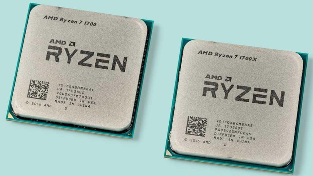 AMD Ryzen 7 1700 und Ryzen 7 1700X