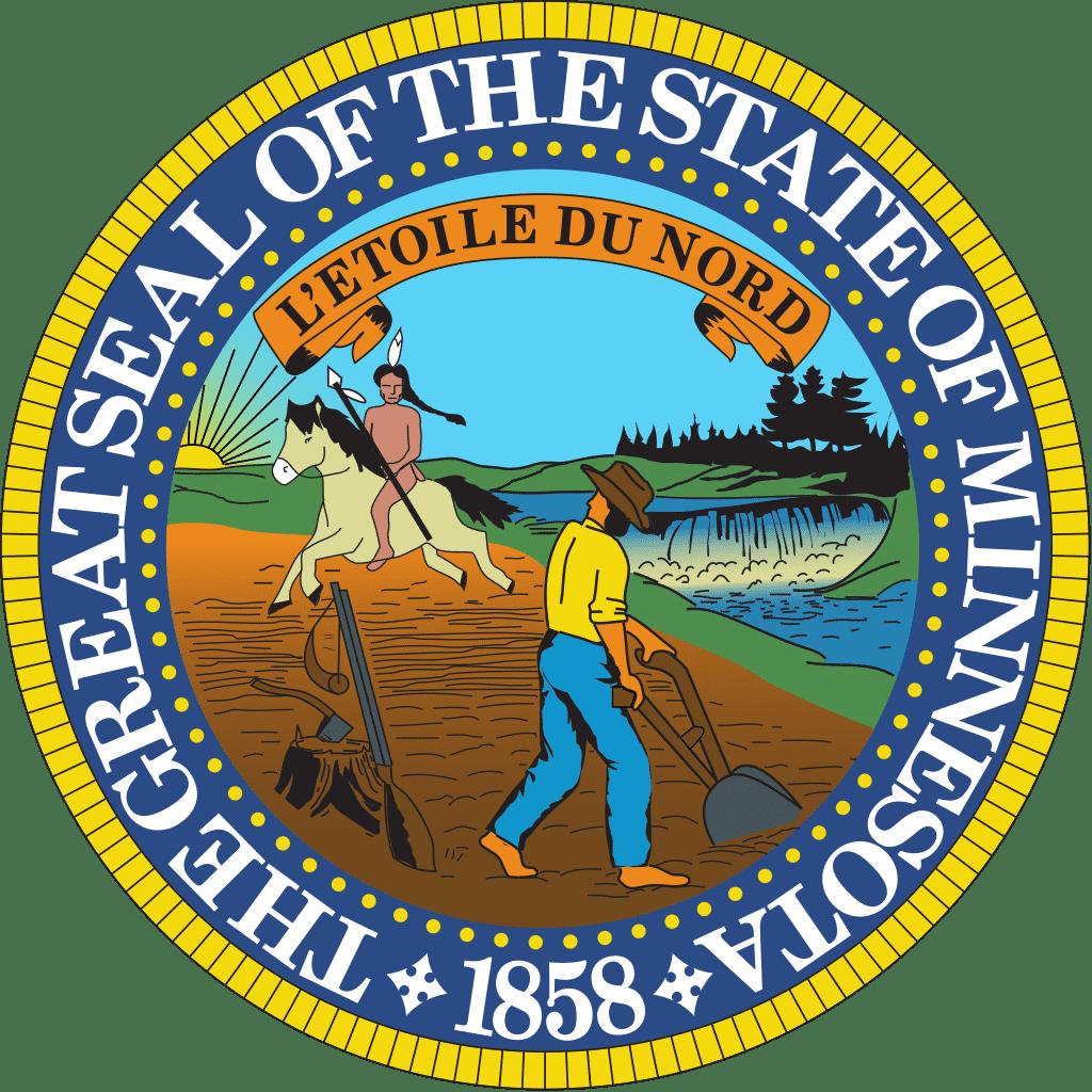 Offizielles Siegel Minnesotas