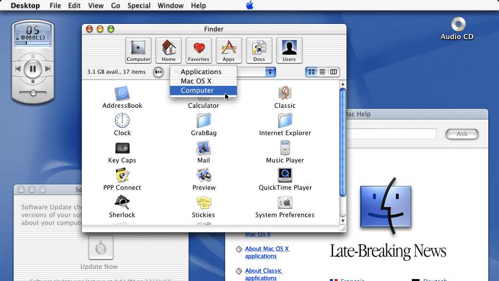 Vor 20 Jahren: Apple stellt die Weichen auf X – für ein modernes Mac OS