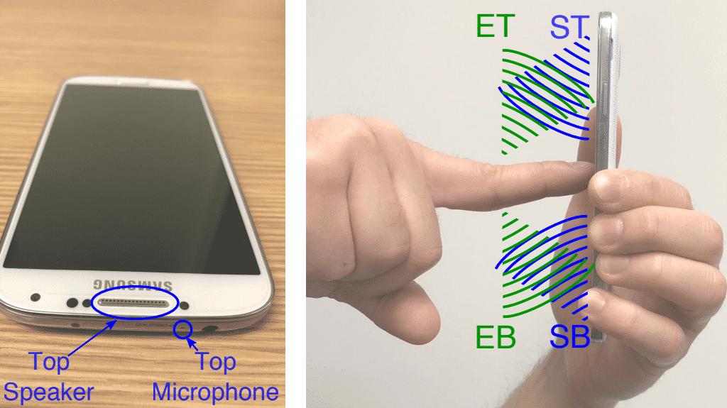 SonarSnoop: Entsperrcode von Smartphone mittels Echo knacken