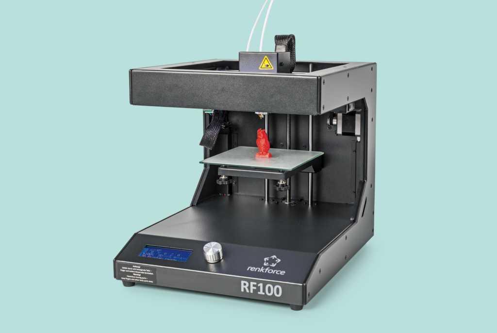 """Wettbewerb: """"Learning by Making"""" von Cornelsen Experimenta Cornelsen und dem Make Magazin: 3D-Drucker Renkforce RF100"""