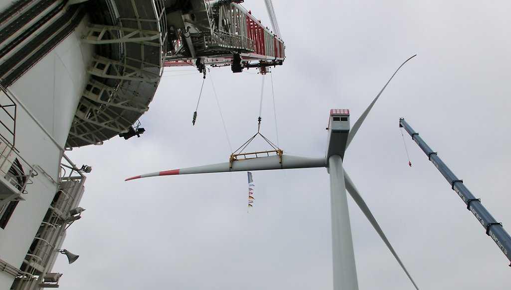 Ostsee-Windpark Baltic 2 speist Strom ins Netz