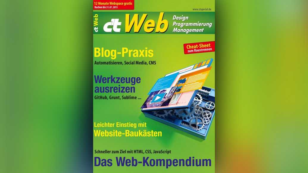 c't Web: Design, Programmierung, Management