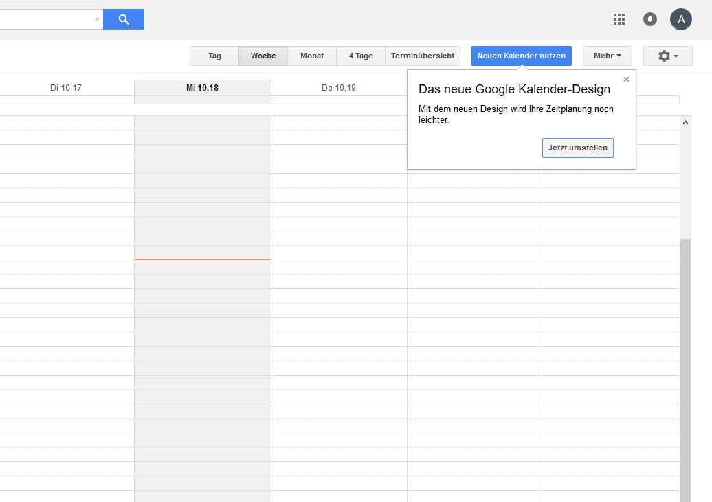 Google Calendar: Update bringt modernes Design