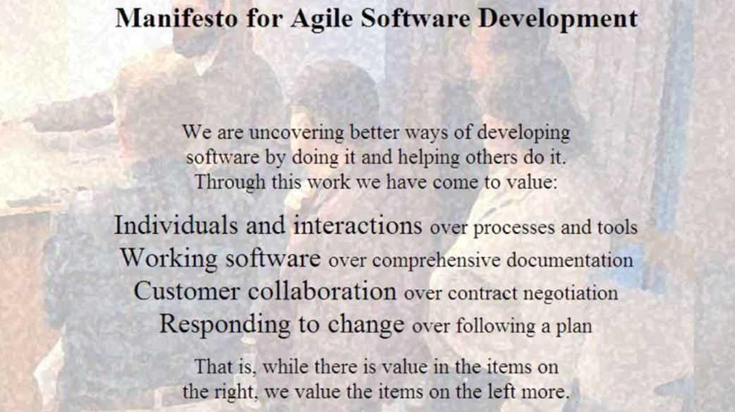 Braucht es ein Agile Manifesto 2.0?