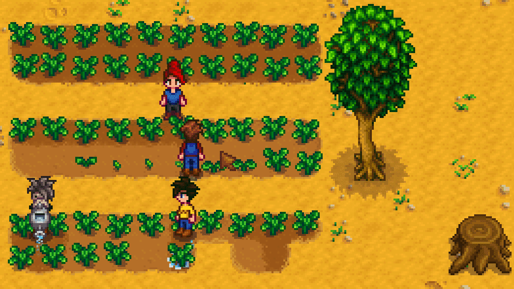 Multiplayermodus in Stardew Valley