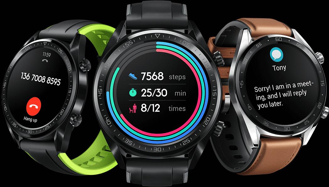 Die Huawei Watch GT ist die erste Huawei-Uhr, die mit einem eigenen Betriebssystem läuft.