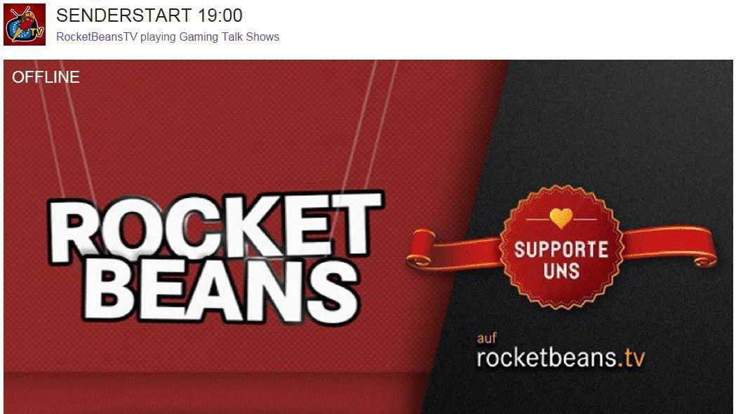 Rocket Beans TV: Unkonventioneller 24-Stunden-Sender startet bei Twitch.tv