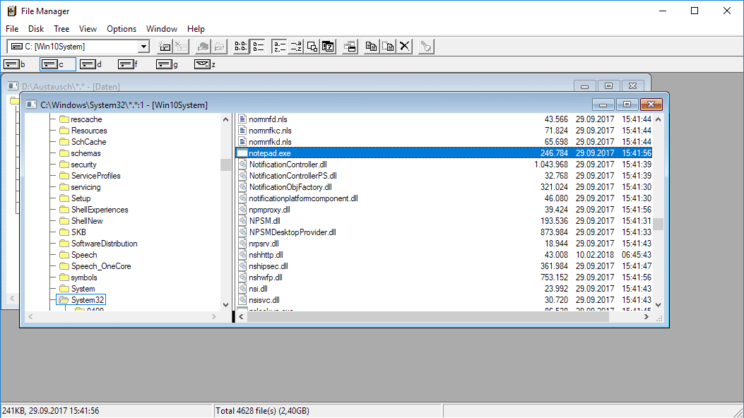 Windows Datei-Manager
