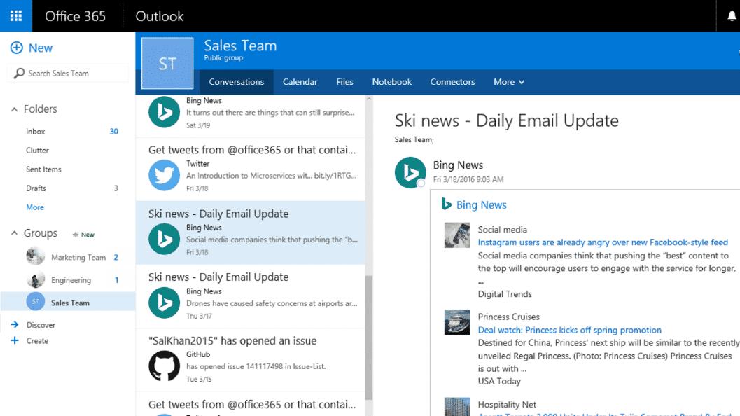 Microsoft verbindet Office 365 mit Apps von Drittanbietern