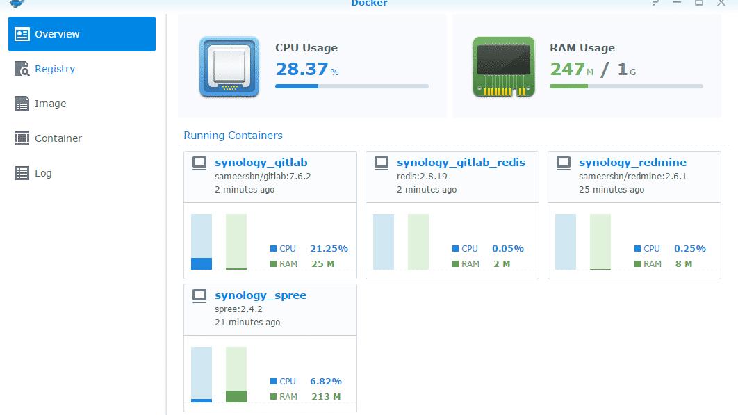 Synology packt Docker-VMs ins NAS