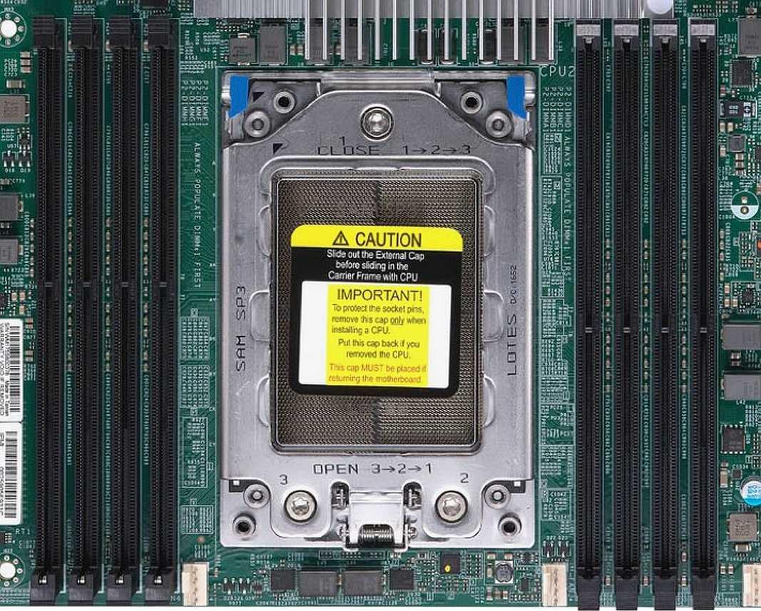 Fassung LGA4094 AMD Socket SP3
