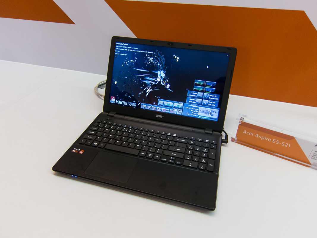 Im Acer E5-521 steckt ein A8-7100.