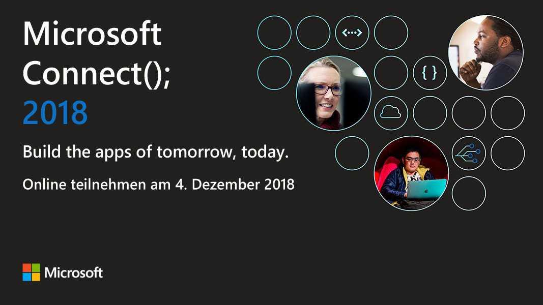 Microsoft Connect();: Live-Berichterstattung heute ab 17.30 Uhr