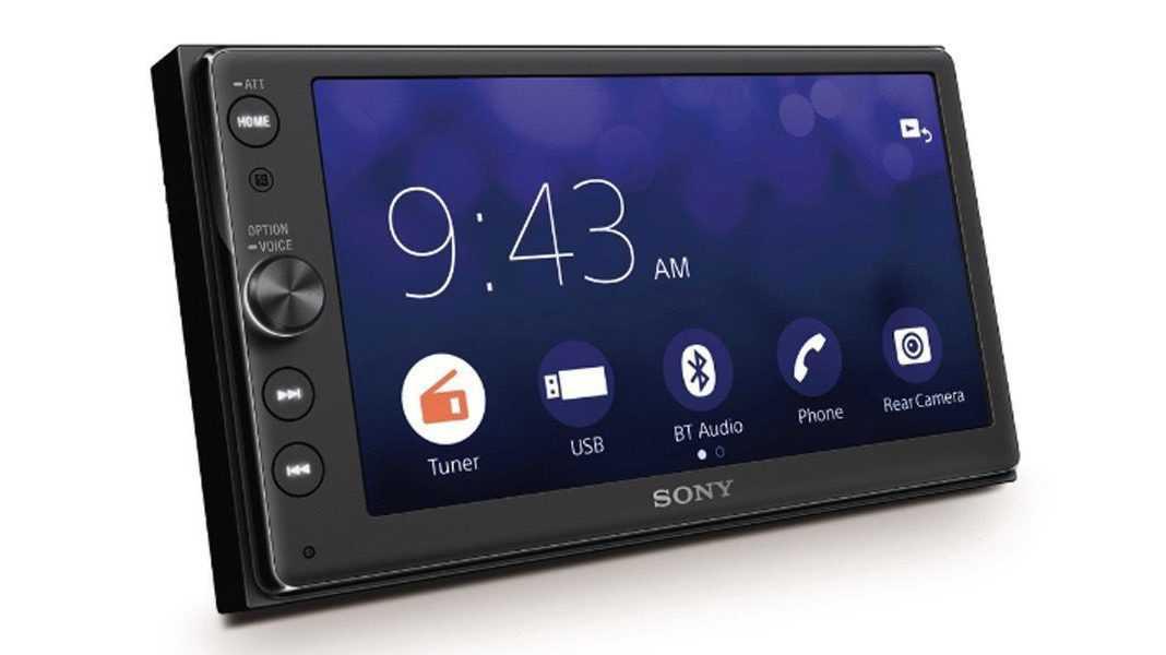 CarPlay-Receiver zum Nachrüsten von Sony