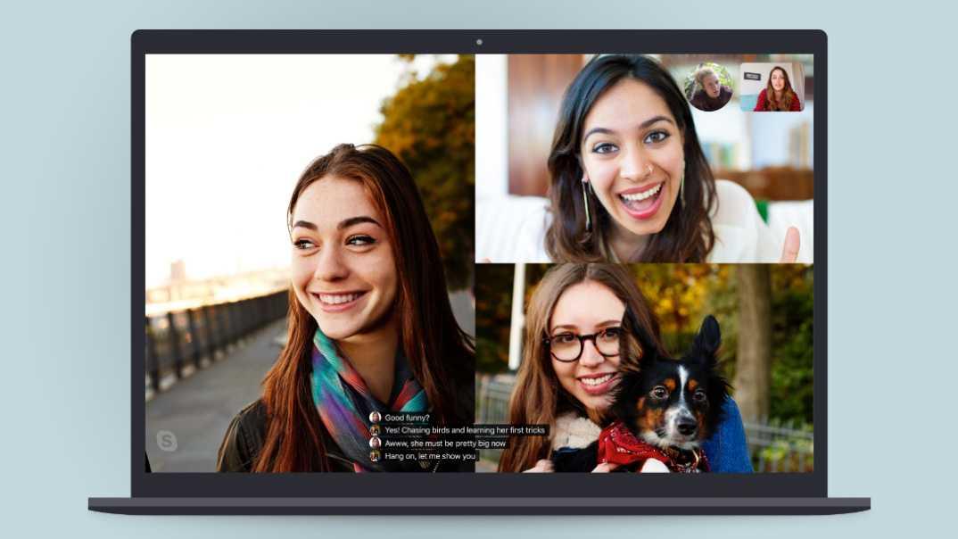 Skype und PowerPoint mit Echtzeit-Untertiteln