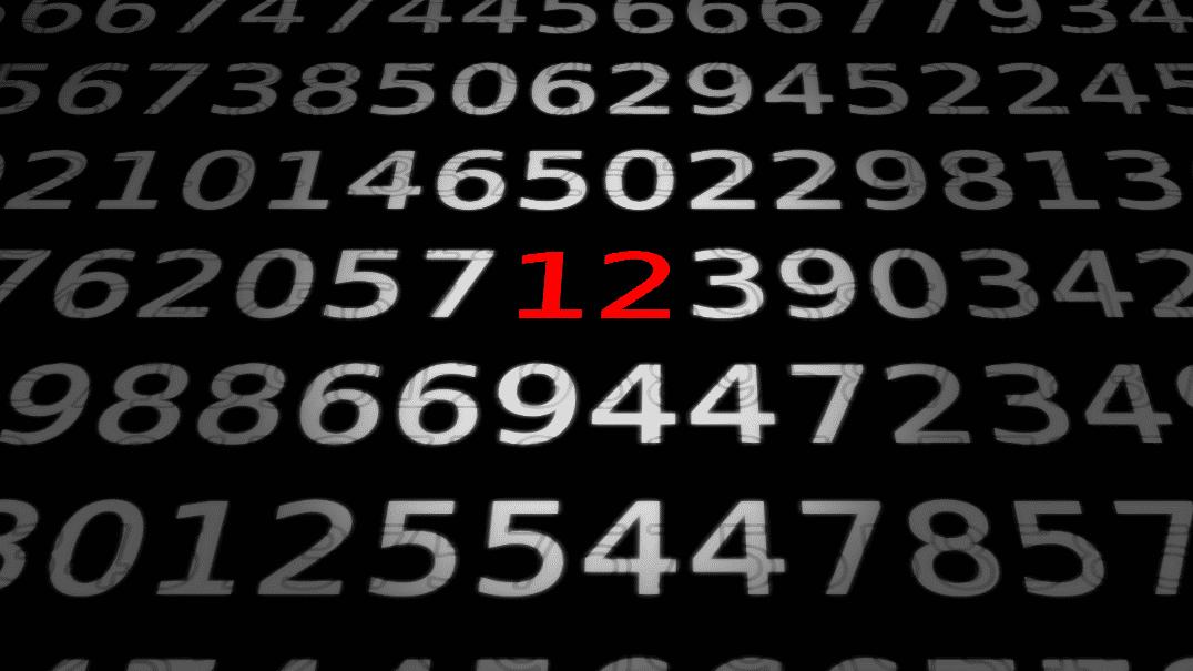 Zahlen, bitte! 12 ...
