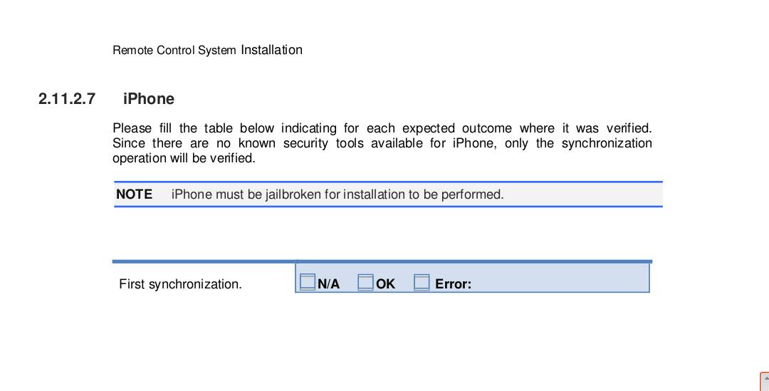 Nahezu alle Betriebssysteme und Computer sollen für die Spionage-Tools anfällig sein. Dem Handbuch der Tools zufolge muss ein iPhone jedoch über einen Jailbreak verfügen, damit es als Wanze dienen kann.