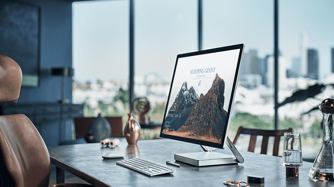 Surface Studio: Microsoft stellt stiftbedienbaren All-in-One-PC vor