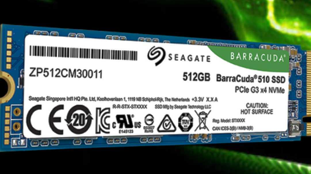 CES: Seagate bringt NVMe- und NAS-SSDs
