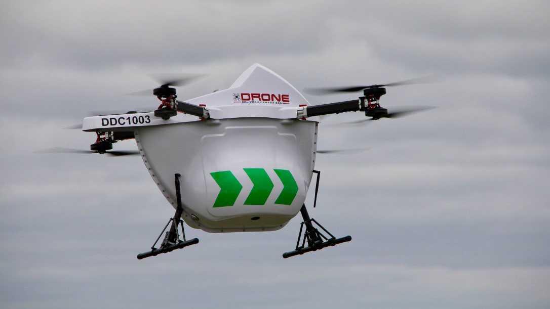 Kommerzielle Drohnen-Lieferungen für Ureinwohner-Insel in Kanada