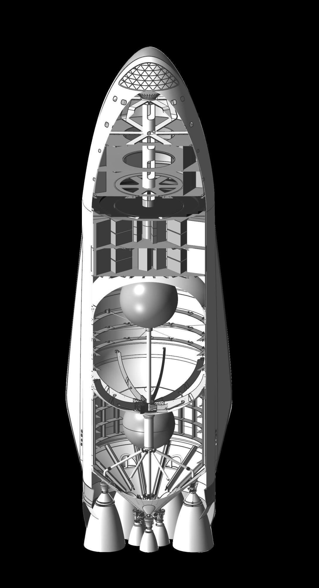 Raumschiff (Schnitt)