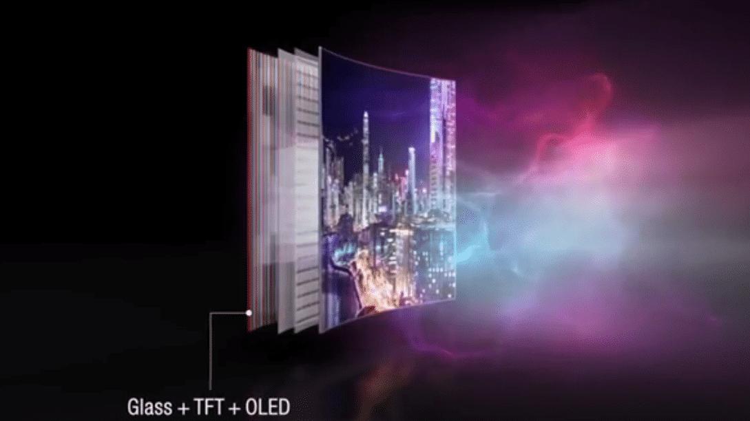 (Fast) aufrollbares OLED-Display von LG