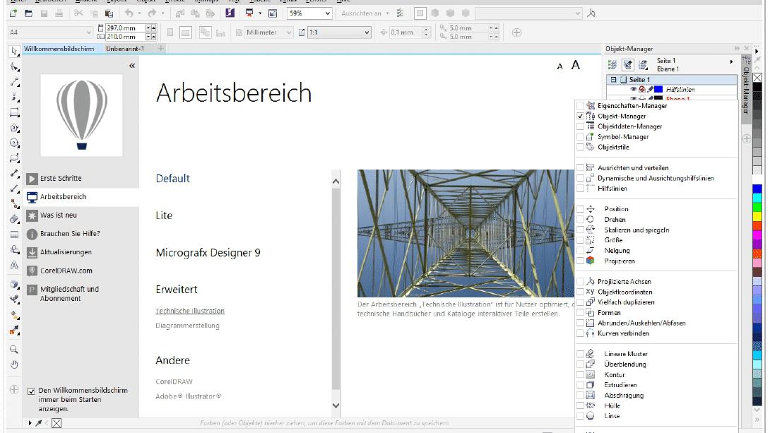 Corel: Neues Vektorgrafikpaket für technische Zeichnungen veröffentlicht