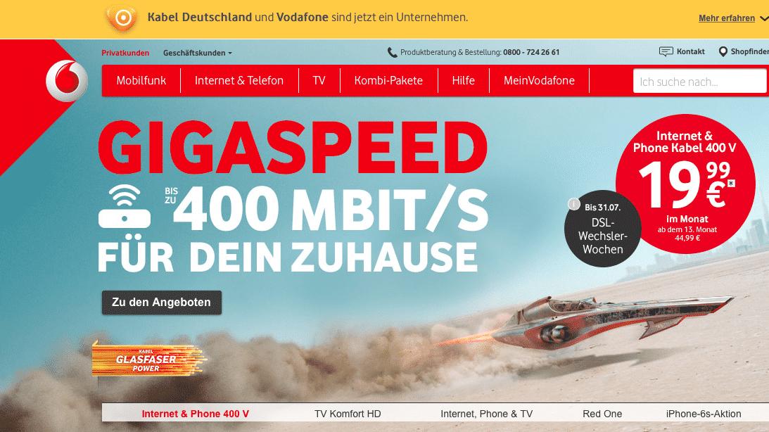 Störungen im Kabel-Deutschland-Netz dauern bis Samstag Mittag an