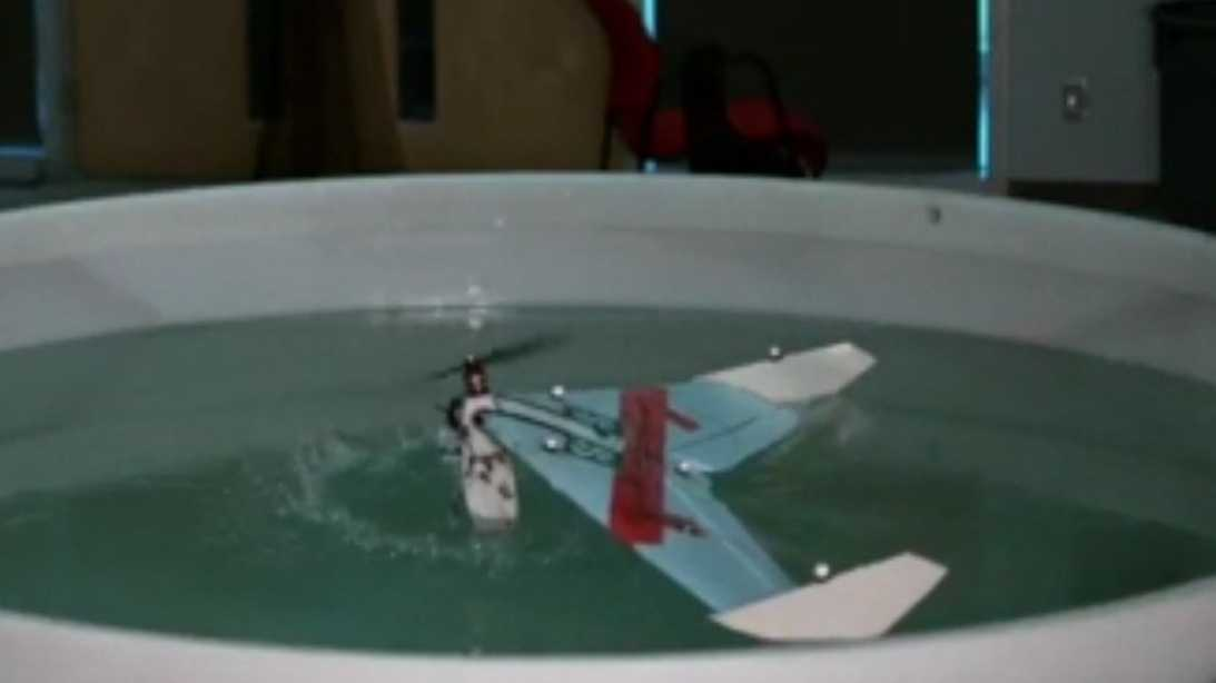 Wasserflugdrohne für den Dauerbetrieb
