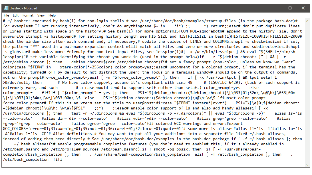 Das Windows Notepad lernt den Linux-Zeilenumbruch