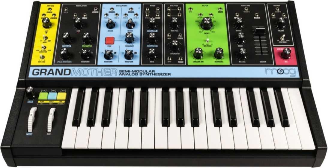 Die bunten Frontplatten erzeugten bei Synthesizer-Fans in einschlägigen Foren ein geteiltes Echo.