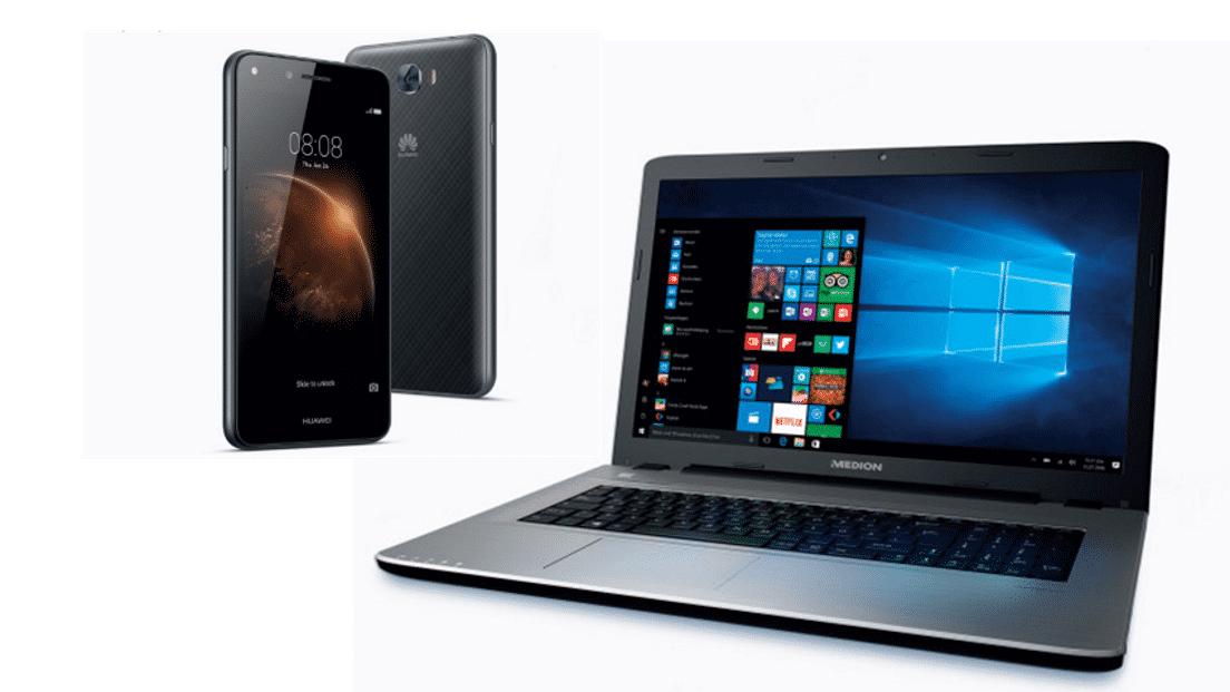 Das taugt das Notebook und das Smartphone von Aldi