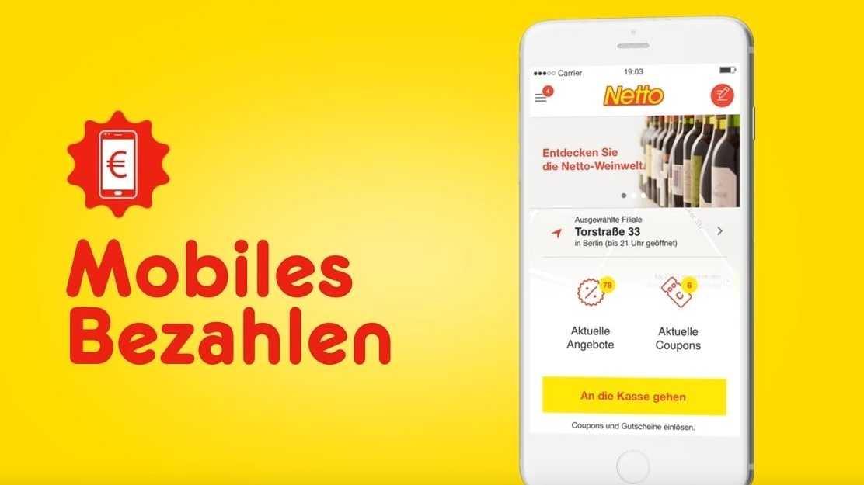 Mobiles Bezahlen: Netto bringt Paypal an die Ladenkasse