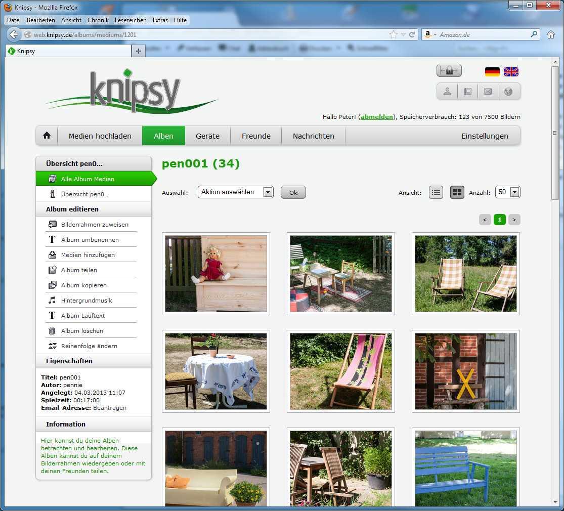 Angetestet: Netzwerkfähiger Bilderrahmen von Knipsy | c\'t Fotografie